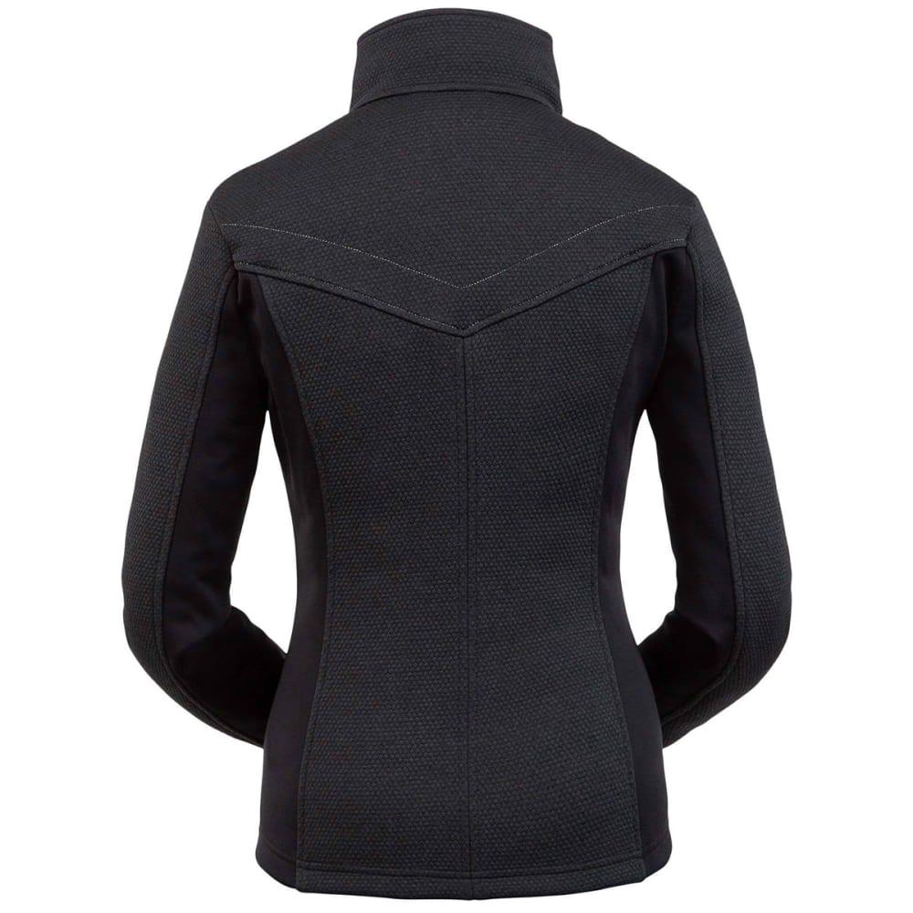 SPYDER Women's Encore Full Zip Fleece Jacket - BLACK 001