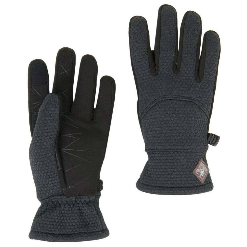 SPYDER Women's Encore Fleece Gloves - BLACK 001