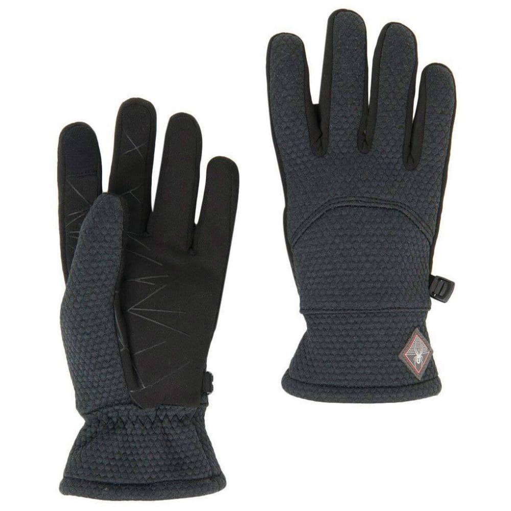 SPYDER Women's Encore Fleece Gloves - BLACK 001