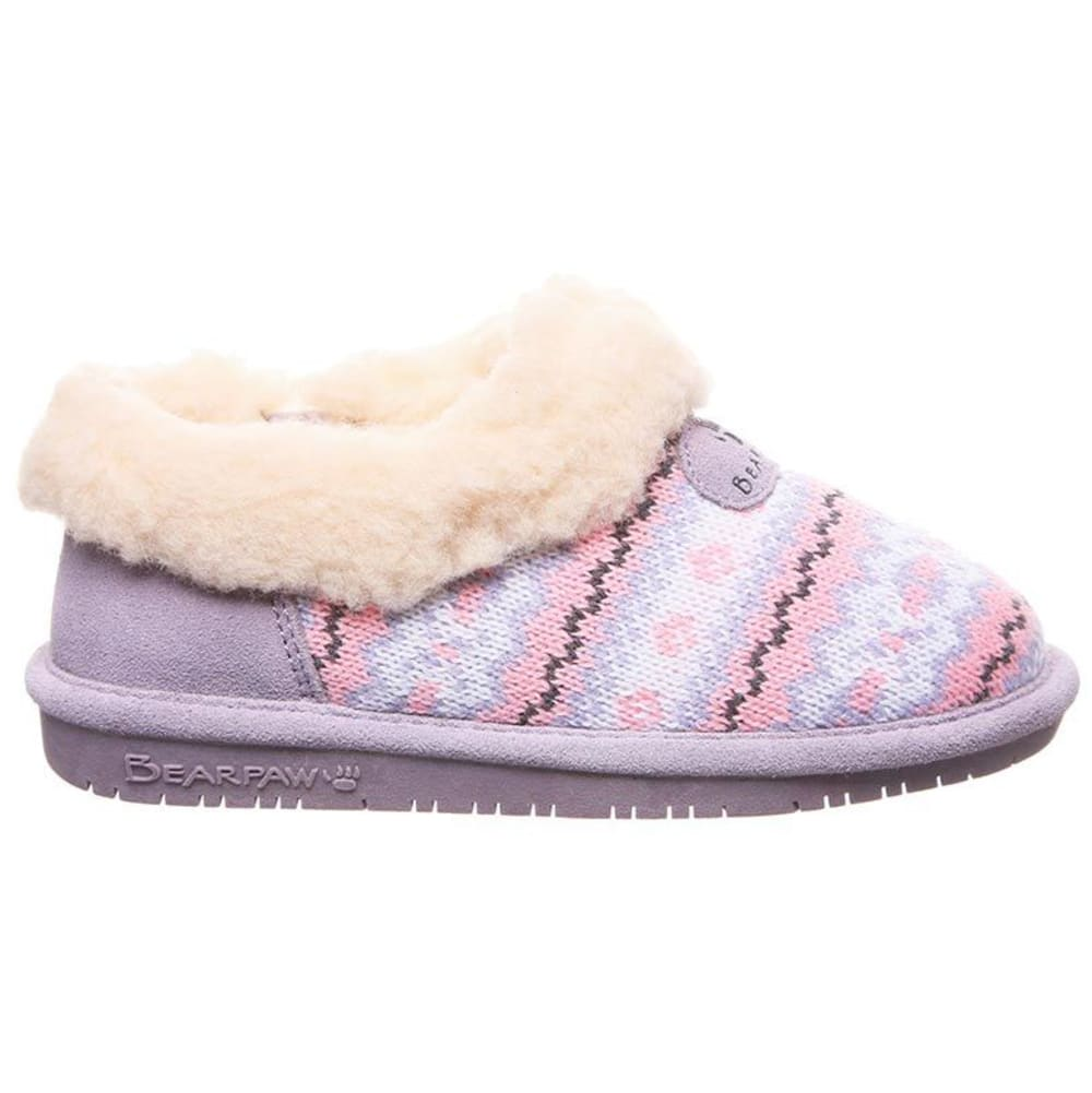 BEARPAW Girls' Alice Slipper - WISTERIA-641