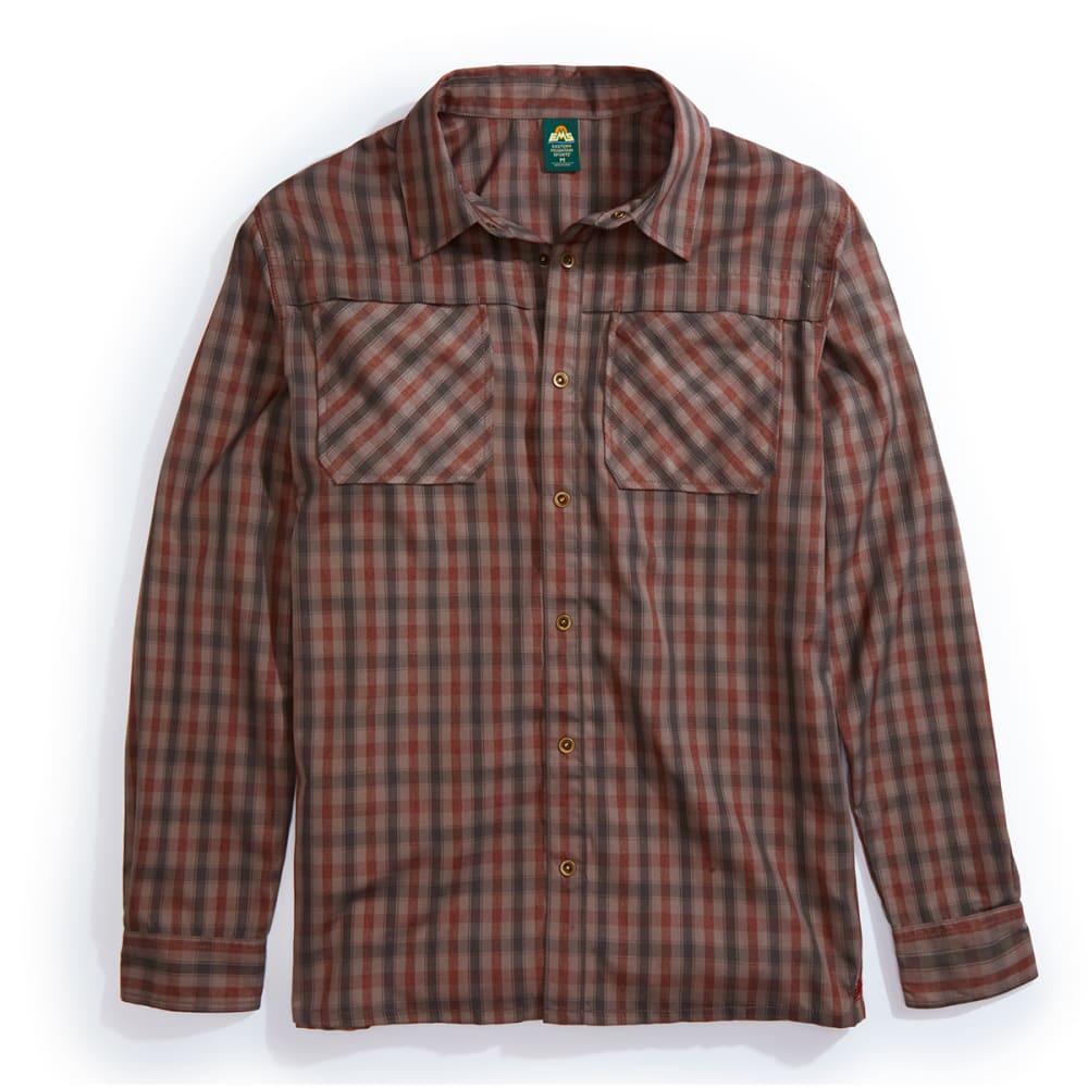 EMS Men's Quinnipiac Tech Flannel Long Sleeve Shirt - Size M