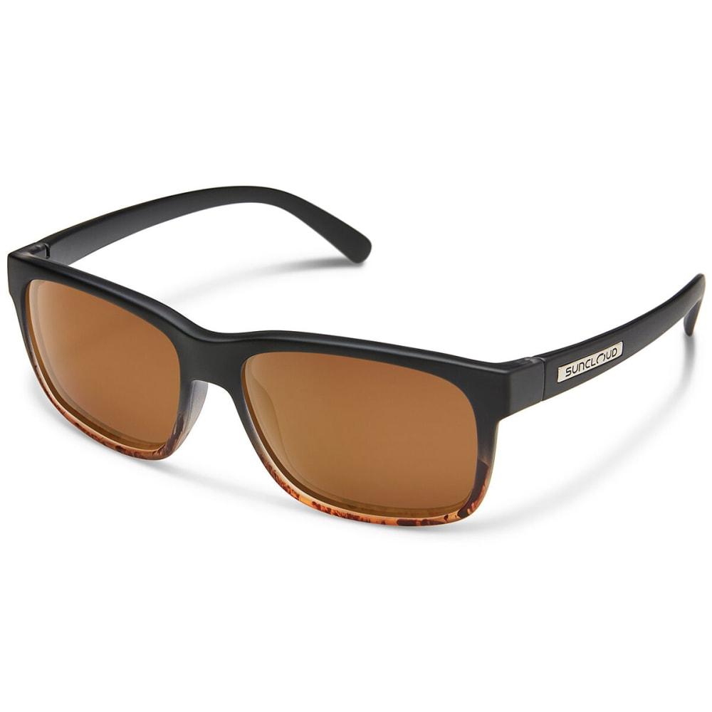 SUNCLOUD Stand Sunglasses - BLACK TORT/BROWN