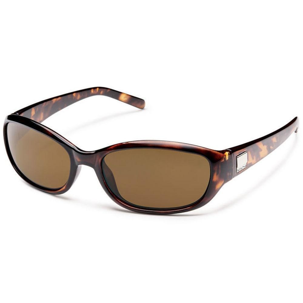 SMITH Women's Irish Suncloud Sunglasses - BROWN TORT/BROWN