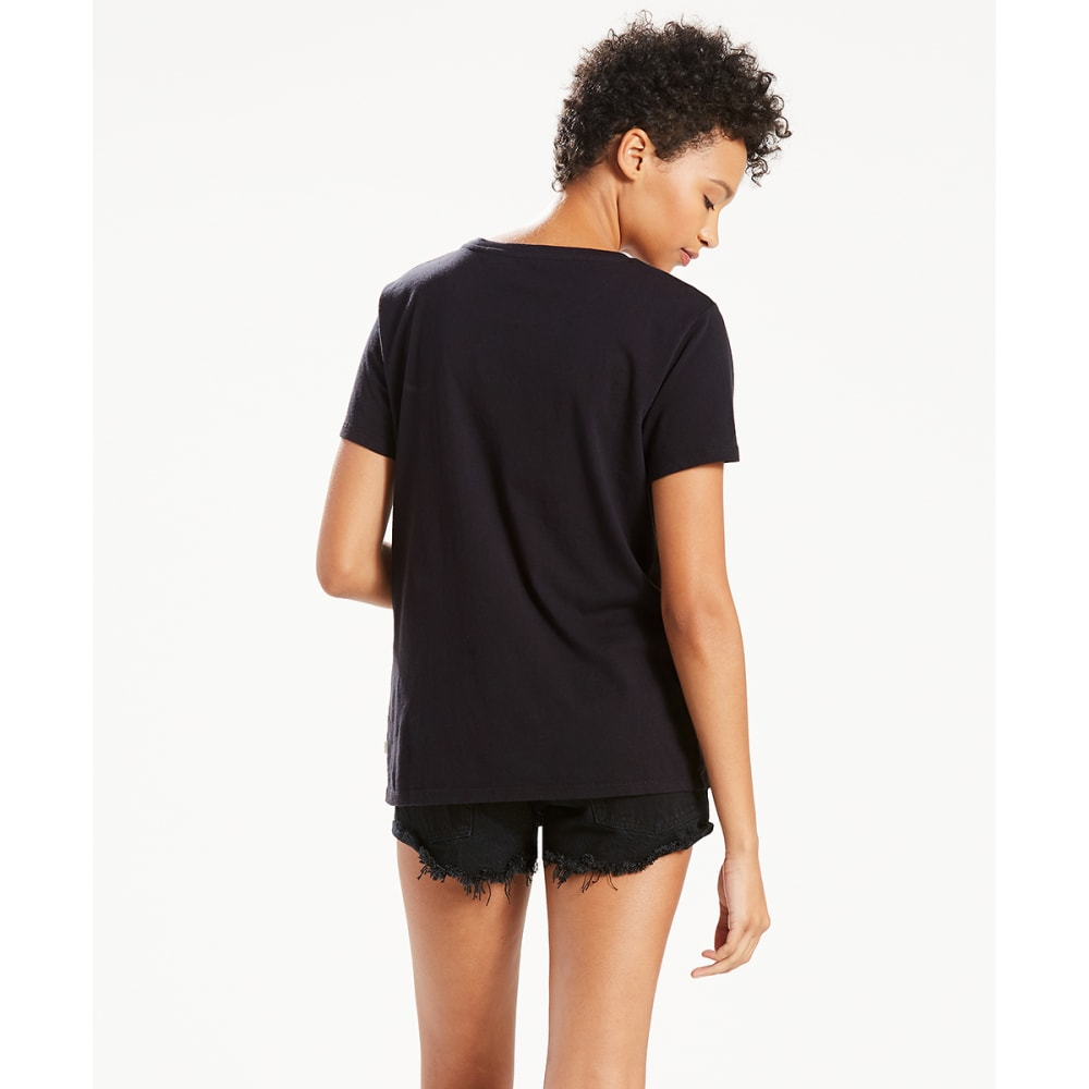 LEVI'S Women's Batwing Short-Sleeve Graphic Tee - BLACK-0466