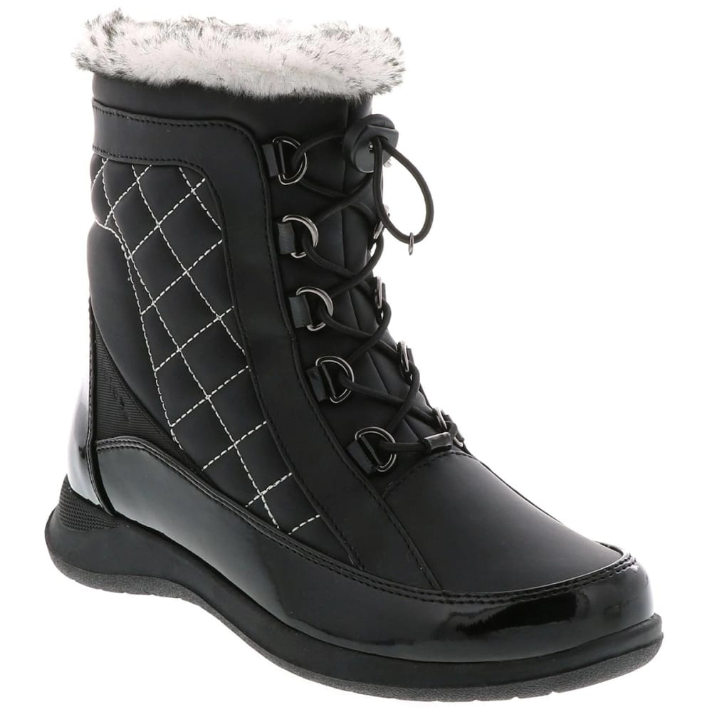 TOTES Women's Lisa Winter Storm Boots - BLACK