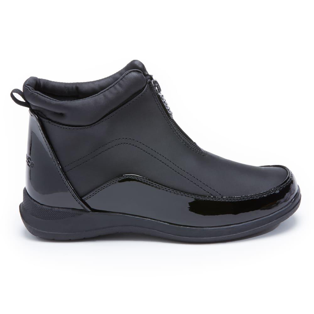 TOTES Women's Rona Side-Zip Boot - BLACK