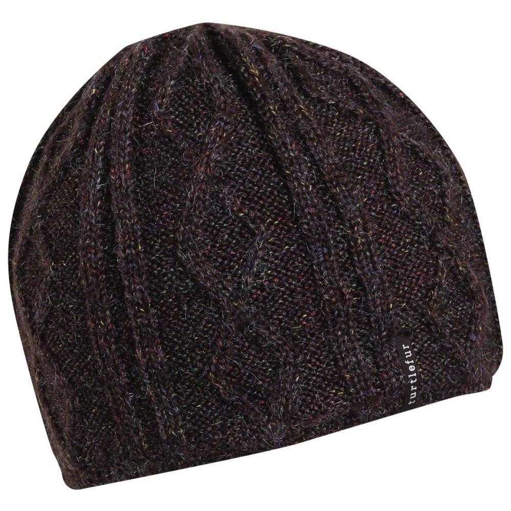TURTLE FUR Women's Monica Knit Beanie - 300 ONYX