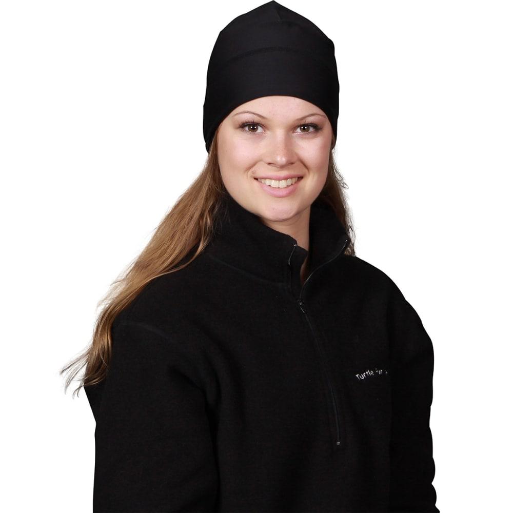 TURTLE FUR Women's Brain Shroud Performance Beanie - 101 BLACK