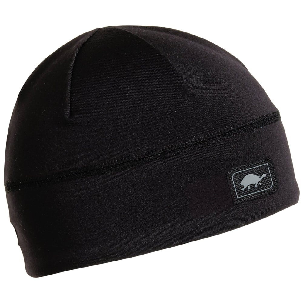 TURTLE FUR Women's Brain Shroud Performance Beanie - 101 BLACK