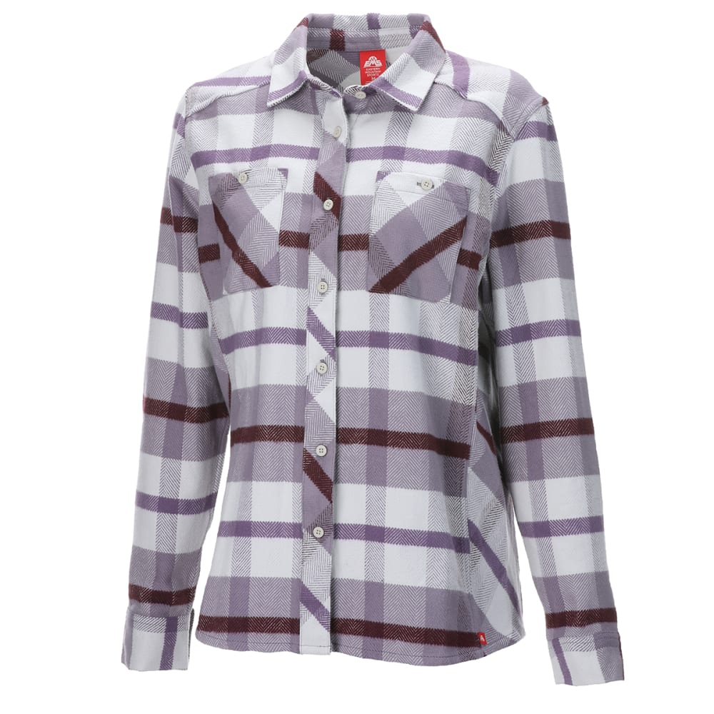 EMS Women's Cabin Flannel - GRAY RIDGE