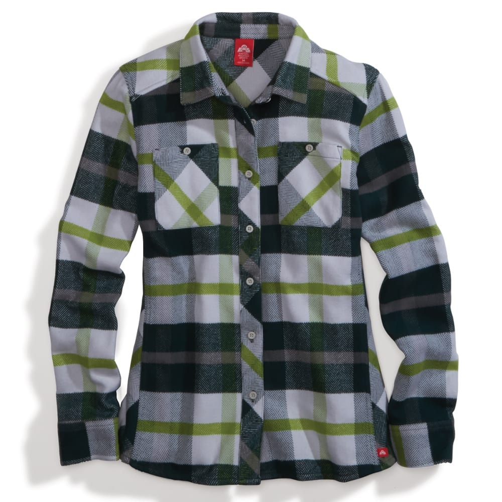 EMS Women's Cabin Flannel Long-Sleeve Shirt XS