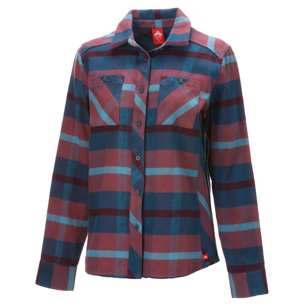 EMS Women's Cabin Flannel - NOCTURNE