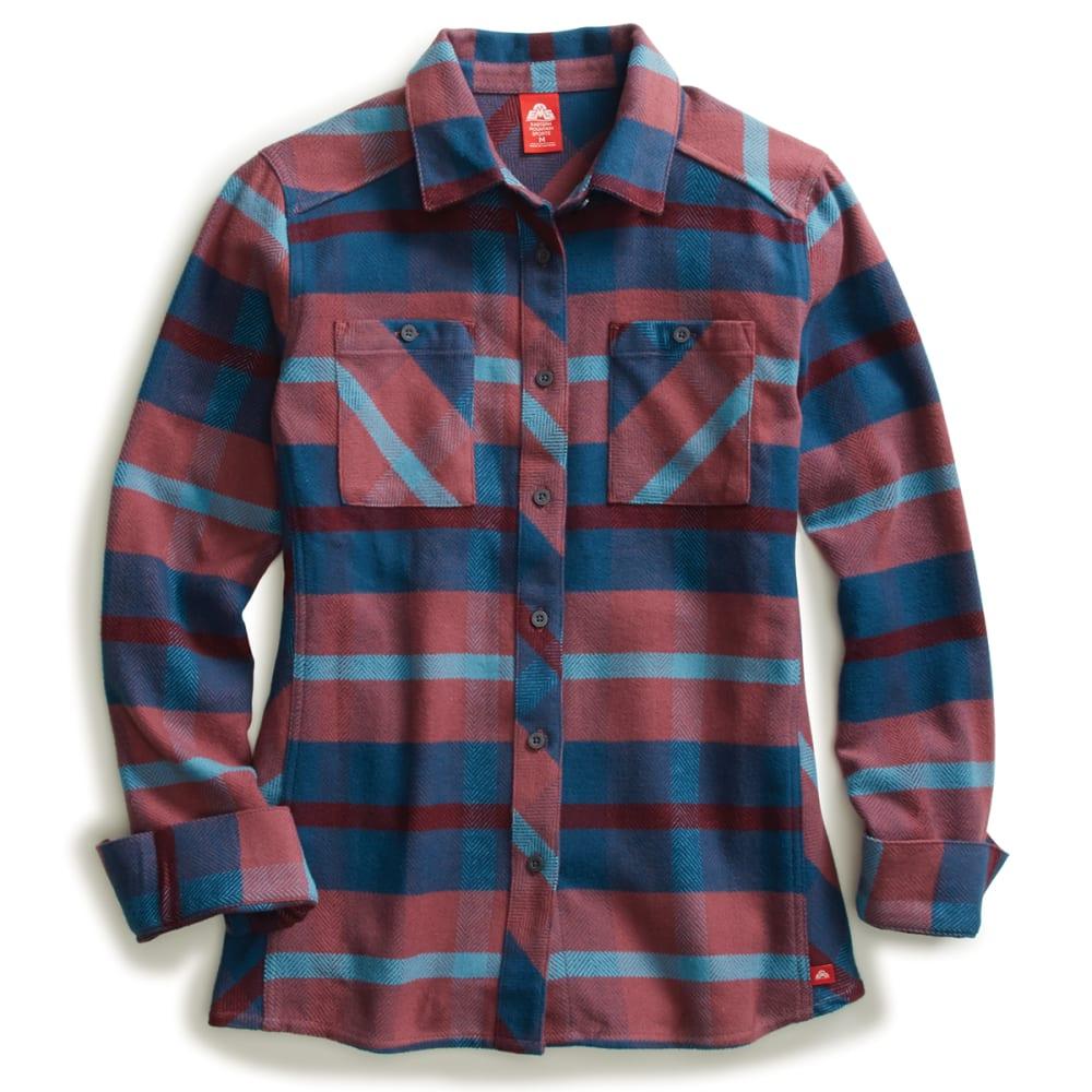 EMS Women's Cabin Flannel Long-Sleeve Shirt L