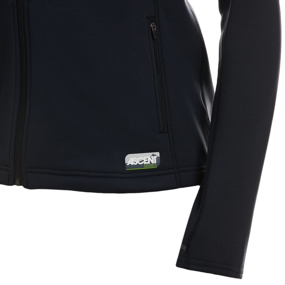 EMS Women's Equinox Ascent Stretch Full-Zip Hooded Jacket - ANTHRACITE