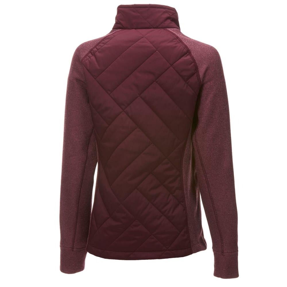 EMS Women's Destination Hybrid Sweater Jacket - NOCTURNE