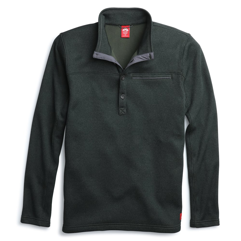 EMS Men's Destination 4-Button Pullover - PINE GROVE