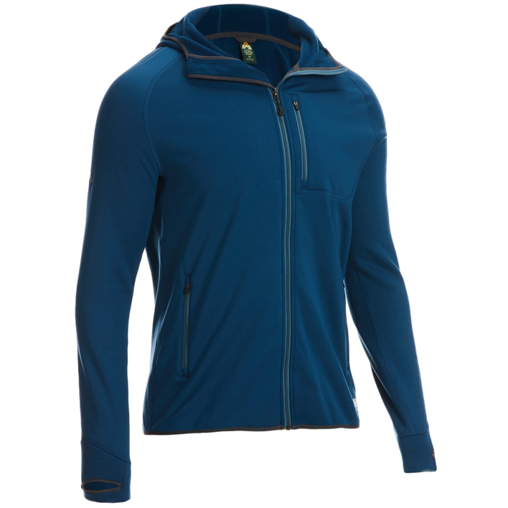 EMS Men's Equinox Ascent Stretch Hoodie - BLUE OPAL