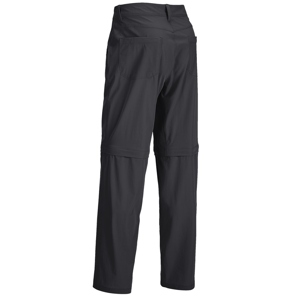 EMS Men's Compass 4-Point Zip-Off Pant - OBSIDIAN