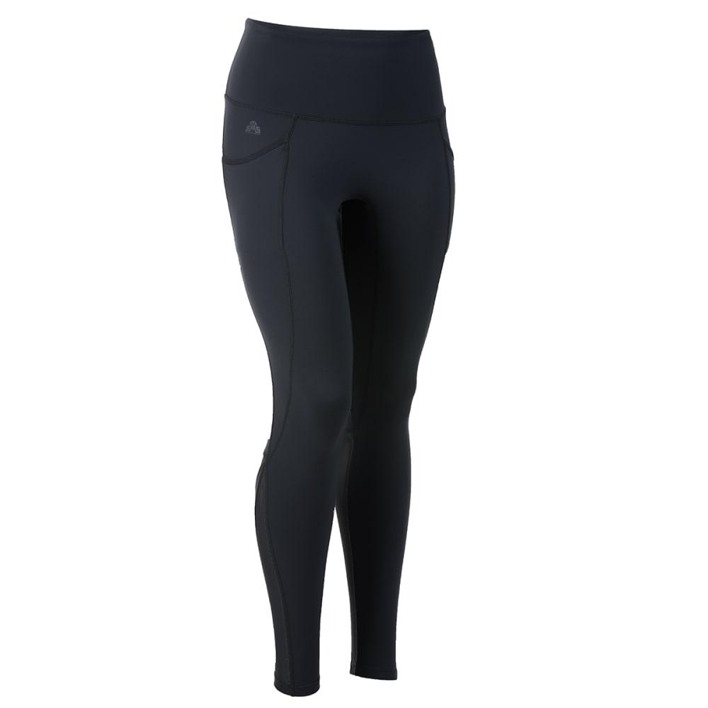 EMS Women's Sat Nam Yoga Leggings - ANTHRACITE