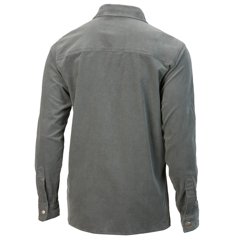 EMS Men's Sturbridge Long-Sleeve Shirt - CASTOR GREY