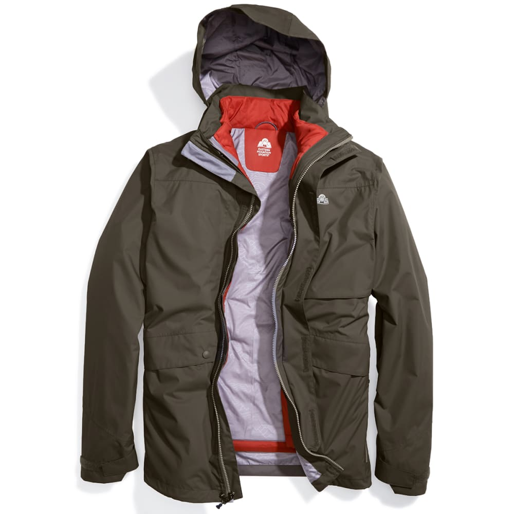 EMS Men's Catskills 3-in-1 Jacket - CROCODILE