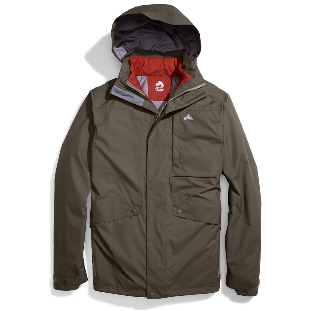 EMS Men's Catskills 3-in-1 Jacket - CROCODILE