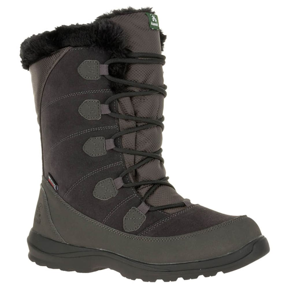 KAMIK Women's Icelyn S Storm Boot - CHARCOAL- CHA