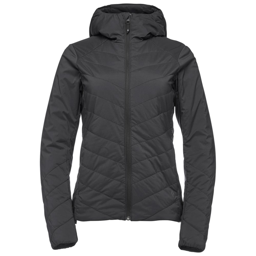 BLACK DIAMOND Women's First Light Hoody - BLACK
