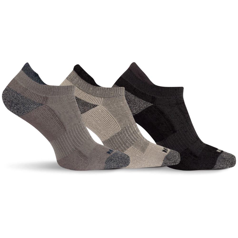 MERRELL Men's Cushioned Low Cut Tab Socks M/L