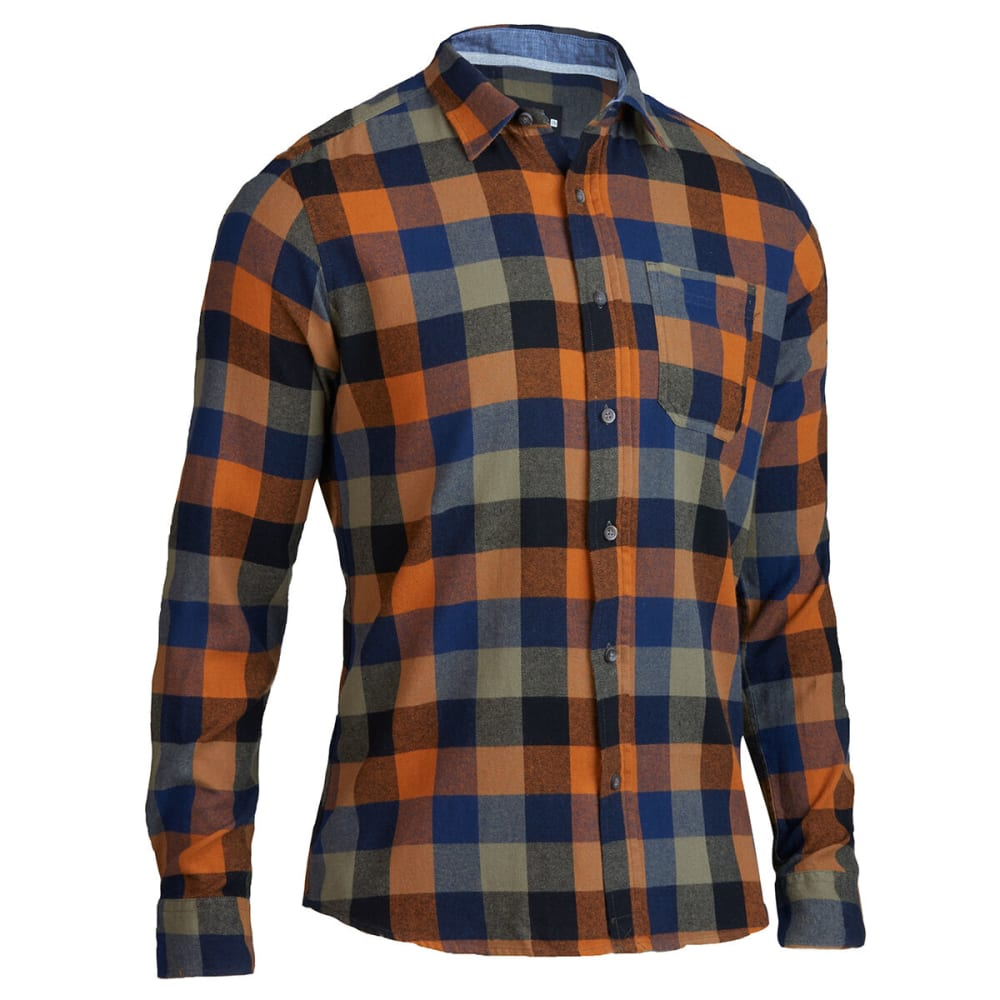 OCEAN CURRENT Men's Farminton Flannel Shirt S