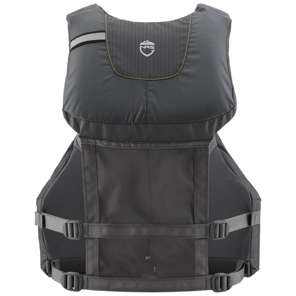 NRS Chinook Fishing PFD Life Jacket - CHARCOAL