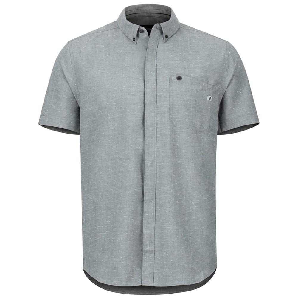 MARMOT Men's Cooper Canyon Short-Sleeve Shirt - 1440 SLATE GRAY