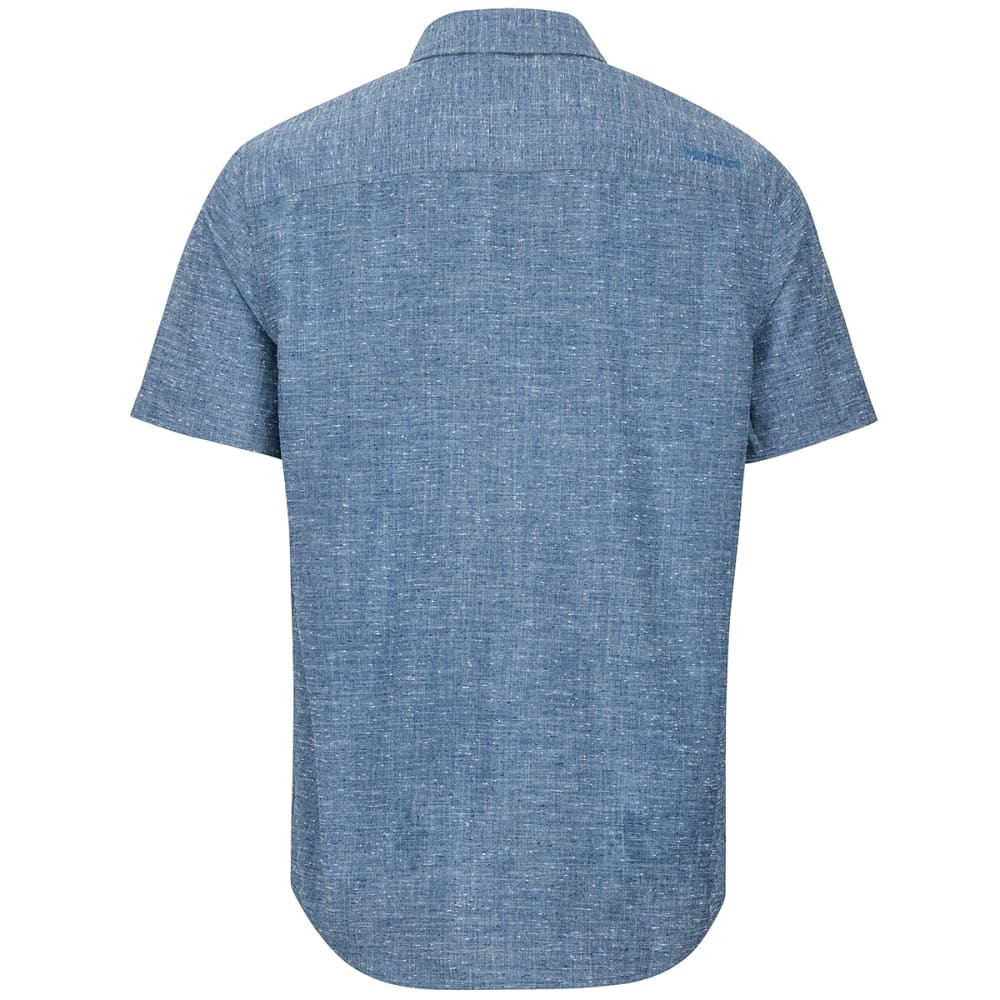MARMOT Men's Cooper Canyon Short-Sleeve Shirt - 2975 ARCTIC NAVY