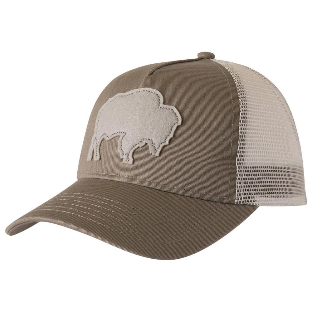 MOUNTAIN KHAKIS Men's Bison Patch Trucker Hat - 500 FIRMA