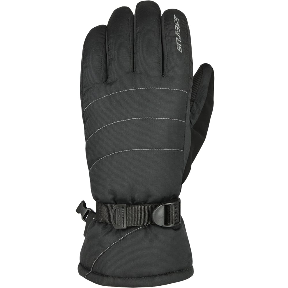 SEIRUS Men's Stitch Gloves - BLACK
