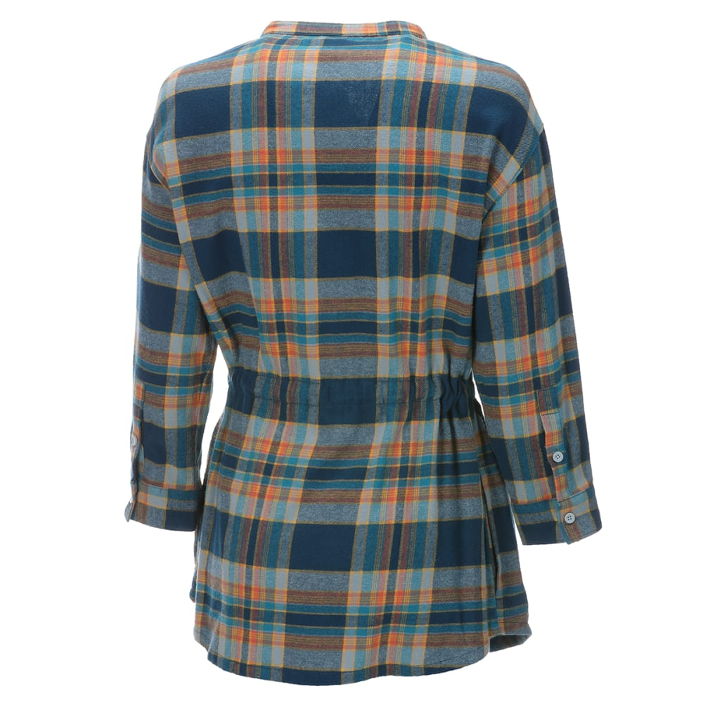 EMS Women's Timber Flannel Tunic - GOLDEN GLOW PLAID