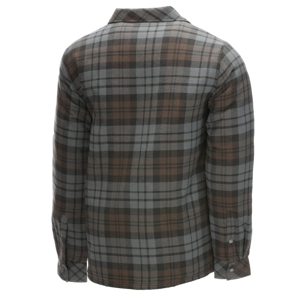 EMS Men's Timber Lined Flannel Shirt - PEAT PLAID