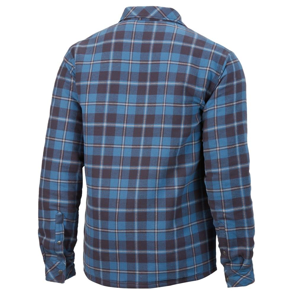 EMS Men's Timber Lined Flannel Shirt - STELLAR PLAID
