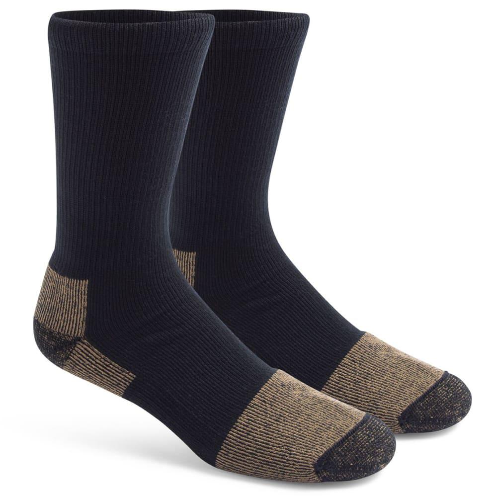 FOX RIVER Steel Toe Lightweight Crew Socks, 2-Pack L