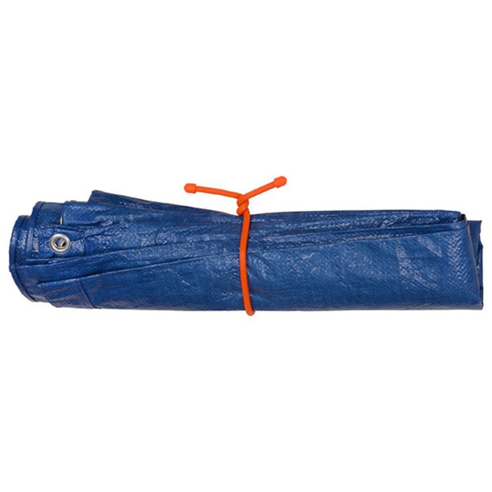 "NITE IZE 18"" Reusable Rubber Twist Tie, 2-Pack - BRIGHT ORANGE"