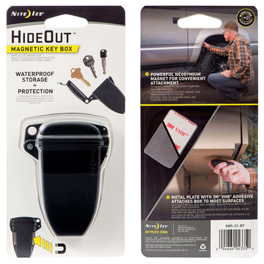 NITE IZE HideOut Magnetic Key Box - NO COLOR