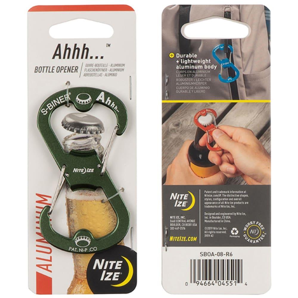 NITE IZE Ahh...  Aluminum Bottle Opener - OLIVE