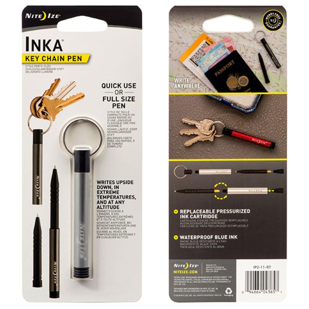 NITE IZE Inka Key Chain Pen - SILVER