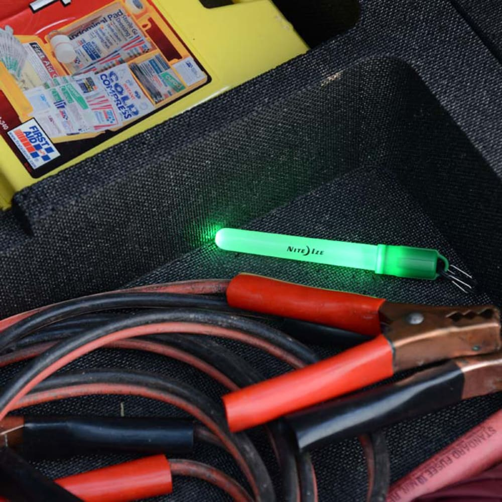 NITE IZE MoonLit LED Micro Lantern Glowstick - GREEN