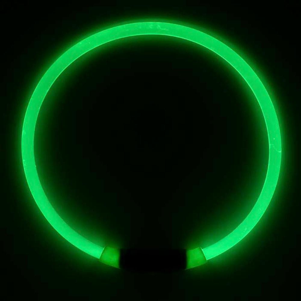 NITE IZE Nitehowl Dog's LED Safety Necklace - GREEN