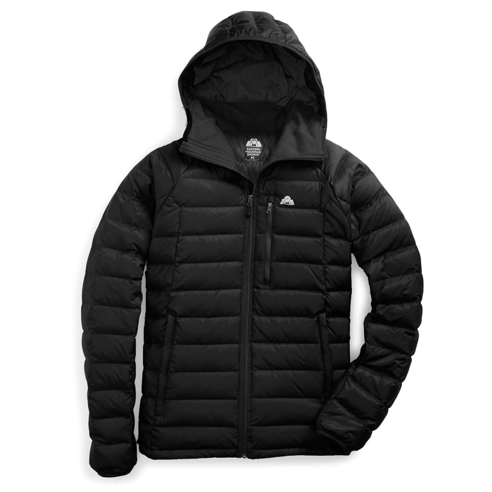 EMS Men's Feather Pack Hooded Jacket - ANTHRACITE