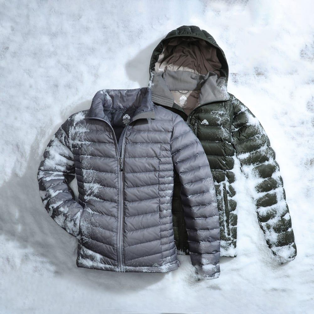 EMS Men's Feather Pack Hooded Jacket - DEEP DEPTHS