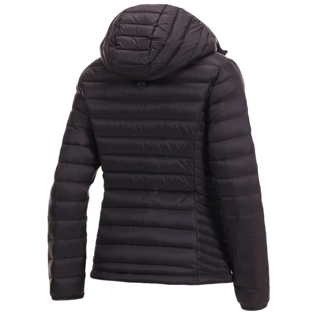 EMS Women's Feather Pack Hooded Jacket - OBSIDIAN