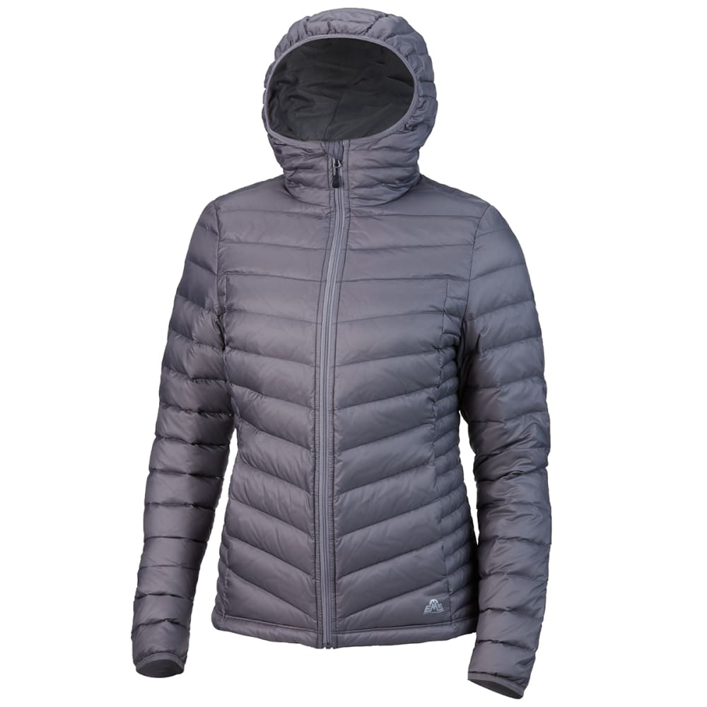 EMS Women's Feather Pack Hooded Jacket - SILVER FILIGREE