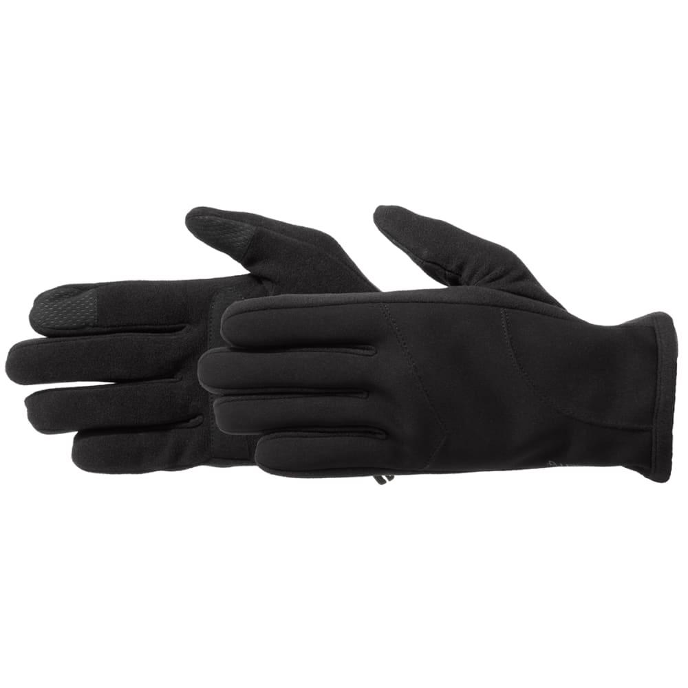 MANZELLA Men's Hybrid Ultra Touchtip 2.0 Gloves - BLACK